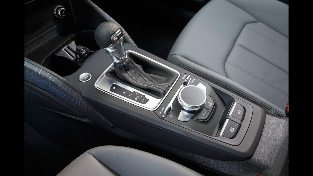 Audi Q2 2.0 TDI Quattro, Mittelkonsole