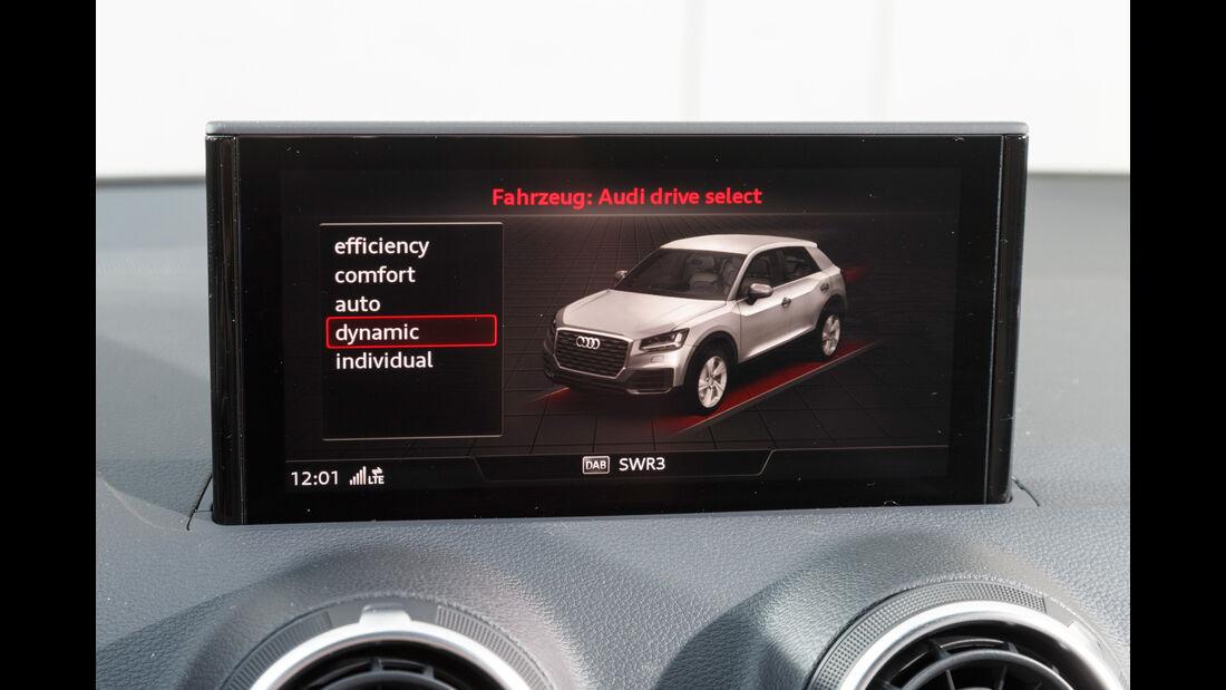 Audi Q2 2.0 TDI Quattro, Monitor, Infotainment