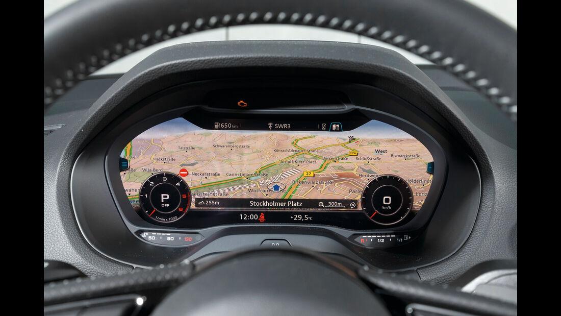 Audi Q2 2.0 TDI Quattro, Rundinstrumente