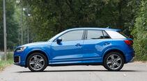 Audi Q2 2.0 TDI Quattro, Seitenansicht