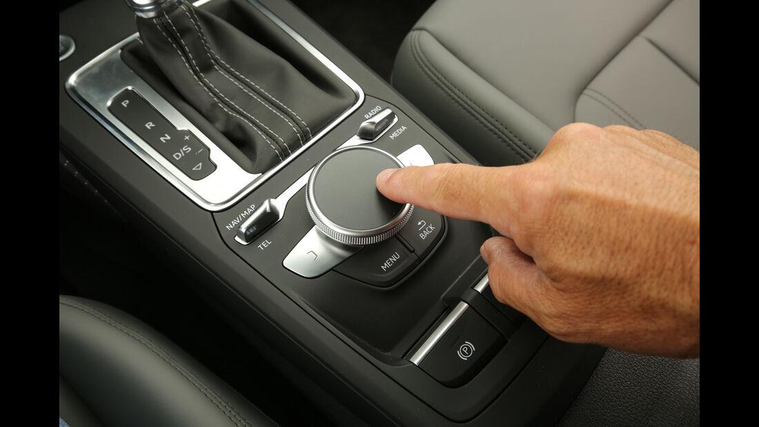 Audi Q2 2.0TDI Quattro, Bedienelemente