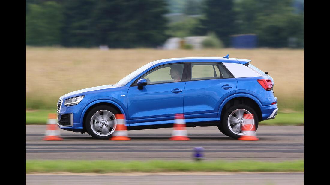 Audi Q2 2.0TDI Quattro, Bremstest