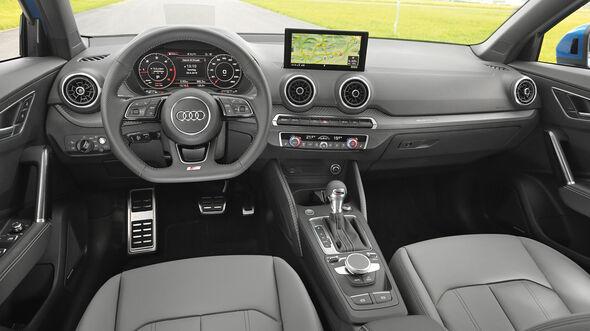 Audi Q2 2.0TDI Quattro, Cockpit