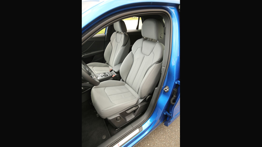 Audi Q2 2.0TDI Quattro, Fahrersitz