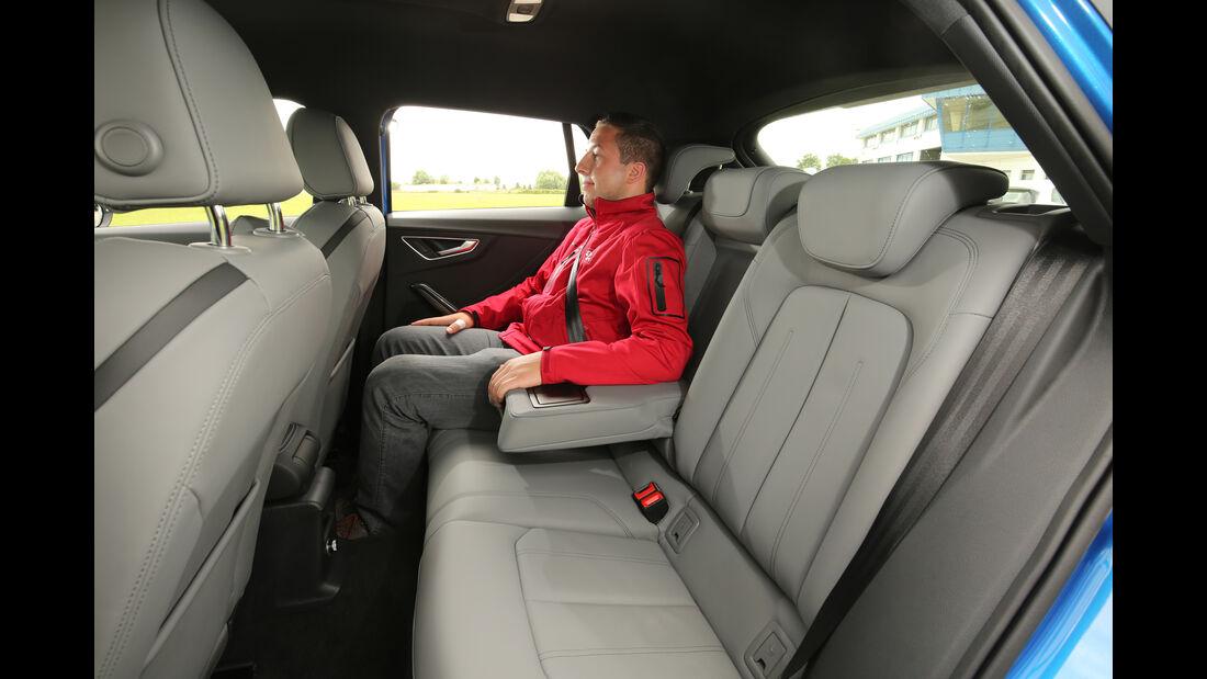 Audi Q2 2.0TDI Quattro, Fondsitze