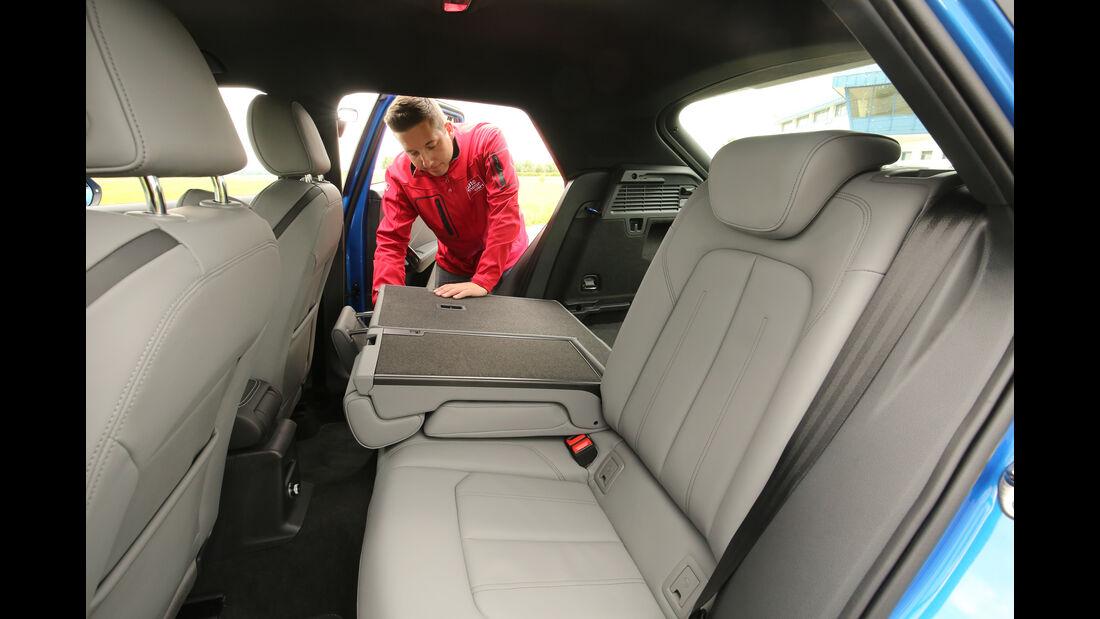 Audi Q2 2.0TDI Quattro, Fondsitze, Umklappen