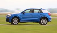 Audi Q2 2.0TDI Quattro, Seitenansicht
