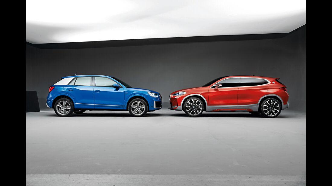 Audi Q2, BMW X2,