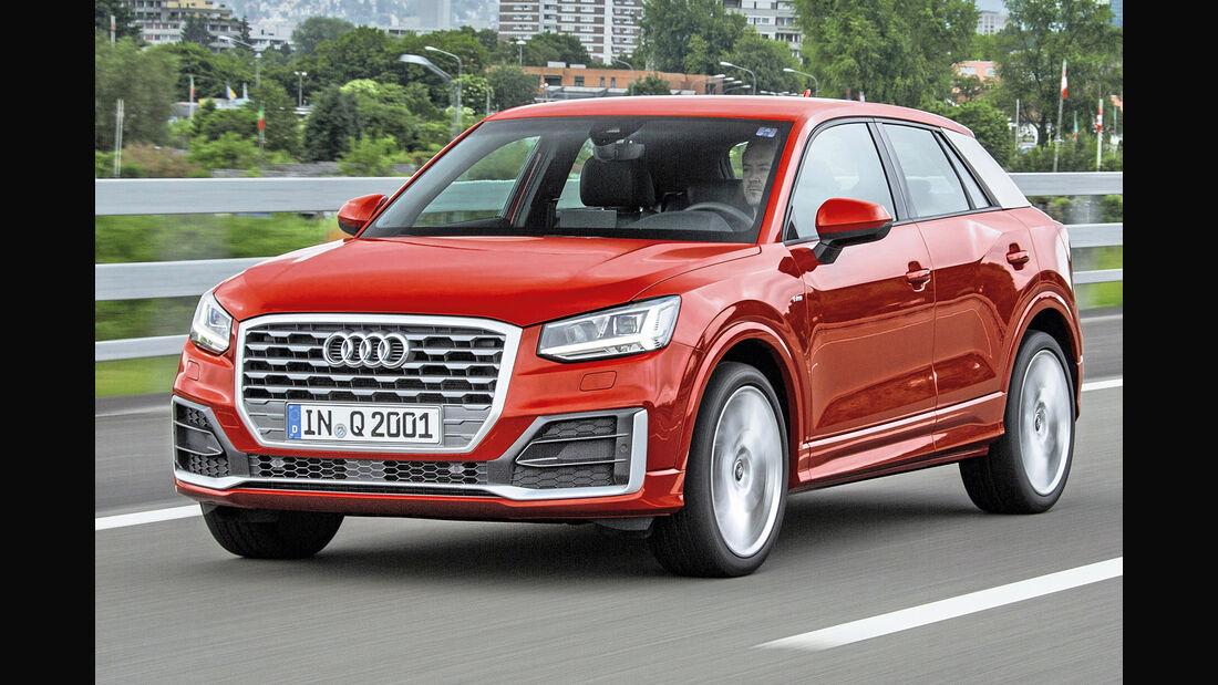 Audi Q2, Best Cars 2020, Kategorie I Kompakte SUV/Geländewagen