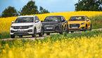 Audi Q2, DS 3 Crossback, VW T-Cross, Exterieur