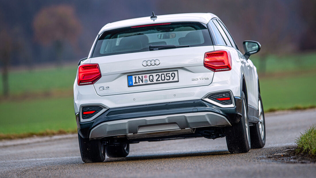 Audi Q2, Exterieur