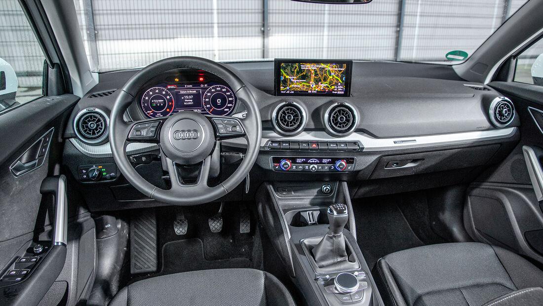 Audi Q2, Interieur