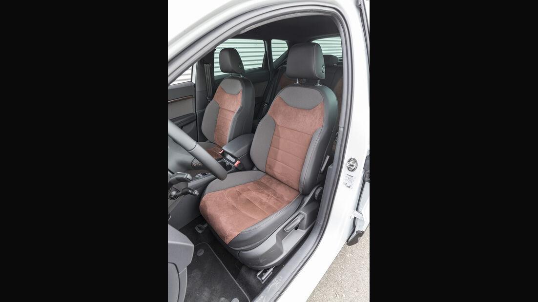 Audi Q2, Seat Ateca Vergleich, AMS1317