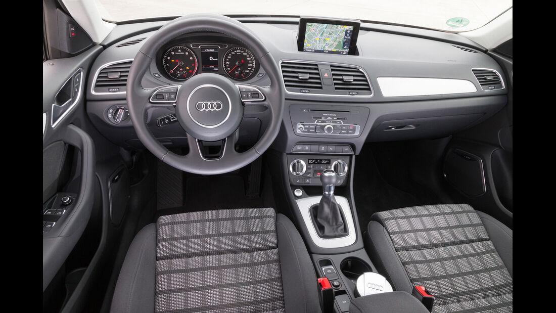 Audi Q3 1.4 TFSI, Cockpit