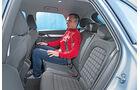 Audi Q3 1.4 TFSI, Fondsitz, Beinfreiheit
