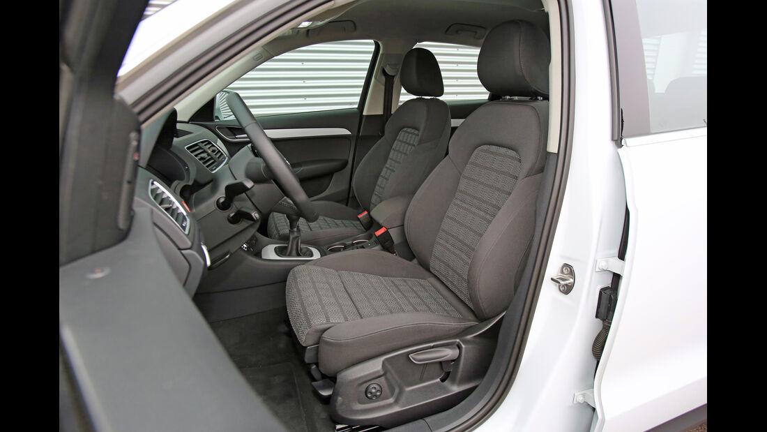 Audi Q3 2.0 TDI, Fahrersitz