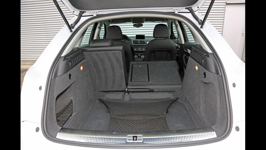 Audi Q3 2.0 TDI, Kofferraum