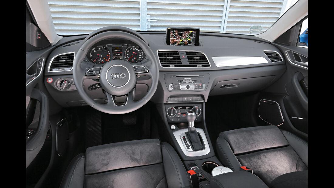 Audi Q3 2.0 TDI Quattro DSG Sport, Cockpit