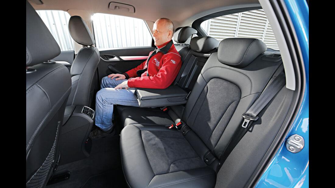 Audi Q3 2.0 TDI Quattro DSG Sport, Fondsitze