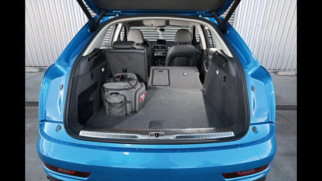 Audi Q3 2.0 TDI Quattro DSG Sport, Kofferraum