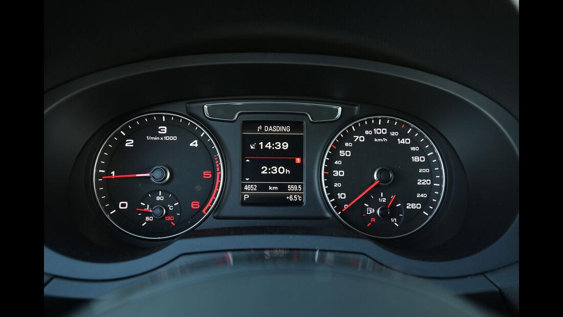 Audi Q3 2.0 TDI Quattro DSG Sport, Rundinstrumente