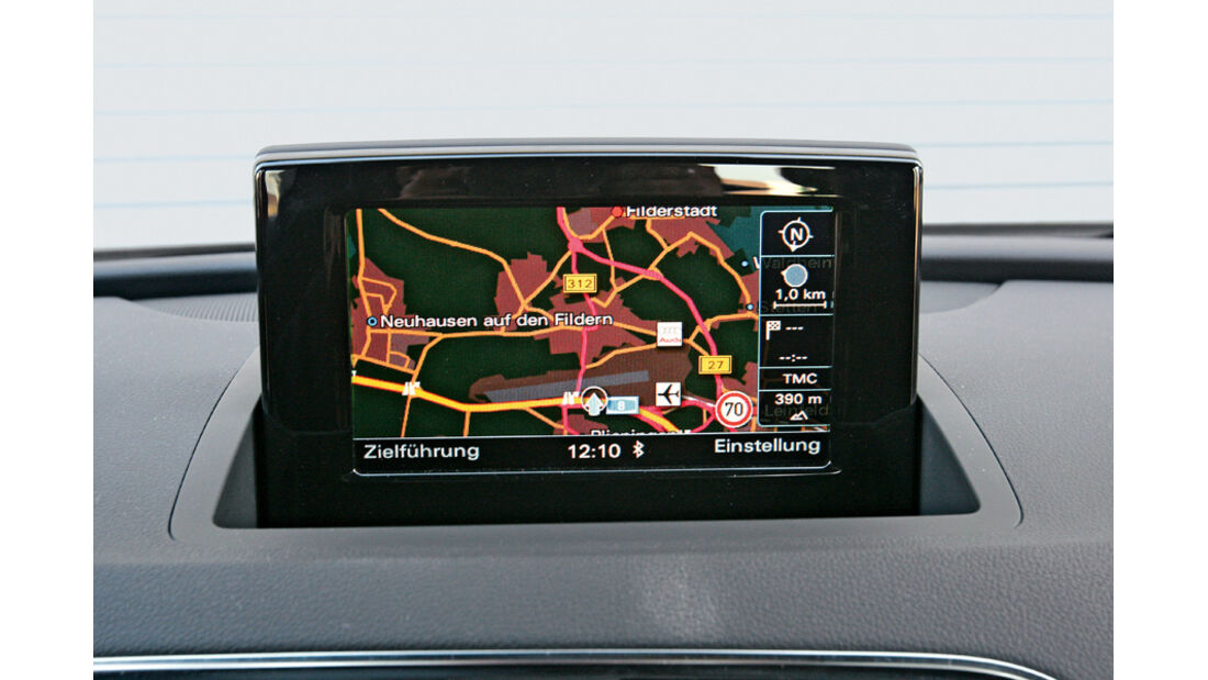 Audi Q3 2.0 TDI Quattro, Display, Navi