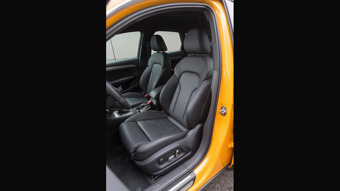 Audi Q3 2.0 TDI Quattro, Fahrersitz