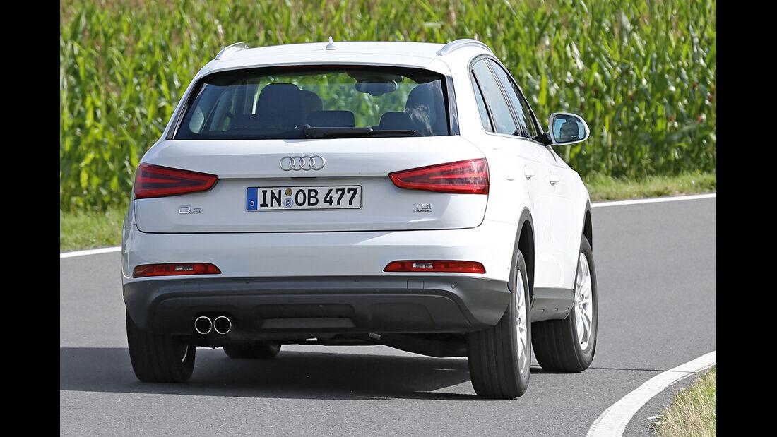 Audi Q3 2.0 TDI Quattro, Heckansicht
