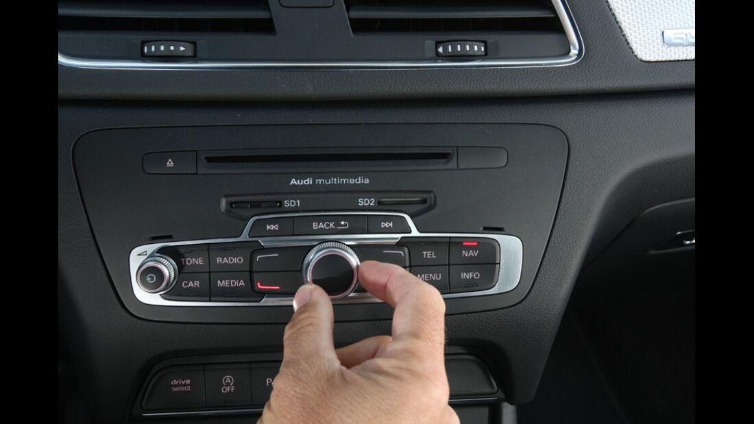 Audi Q3 2.0 TDI Quattro, Regler