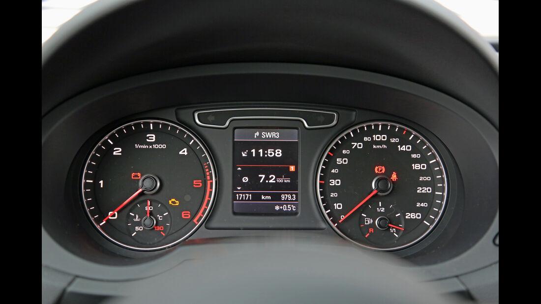 Audi Q3 2.0 TDI, Rundinstrumente