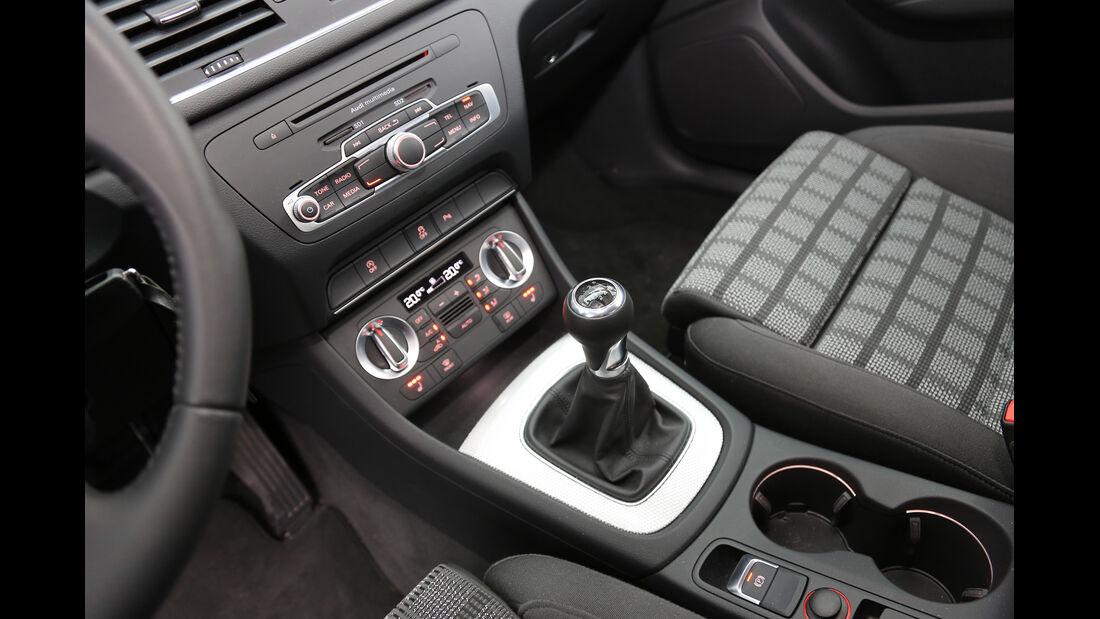 Audi Q3 2.0 TDI, Schalthebel