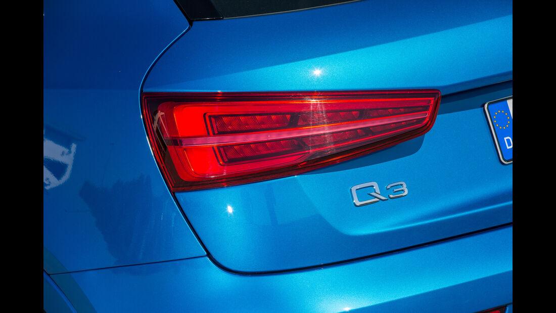 Audi Q3 2.0 TFSI Quattro, Heckleuchte