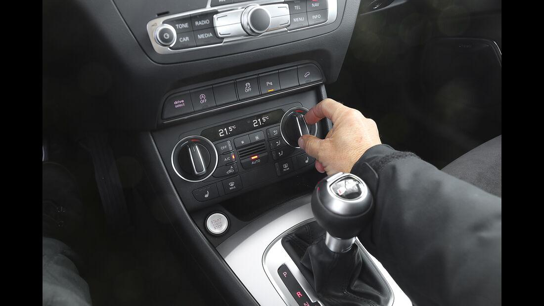 Audi Q3 2.0 TFSI Quattro, Interieur