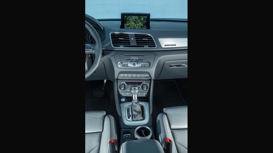 Audi Q3 2.0 TFSI Quattro, Mittelkonsole