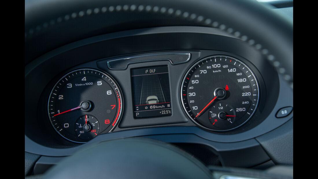 Audi Q3 2.0 TFSI Quattro, Rundinstrumente