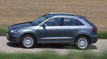 Audi Q3 2.0 TFSI Quattro, Seitenansicht