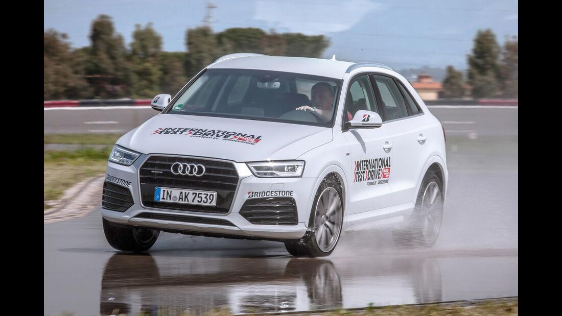 Audi Q3 2.0 TFSI Quattro Sport, Frontansicht