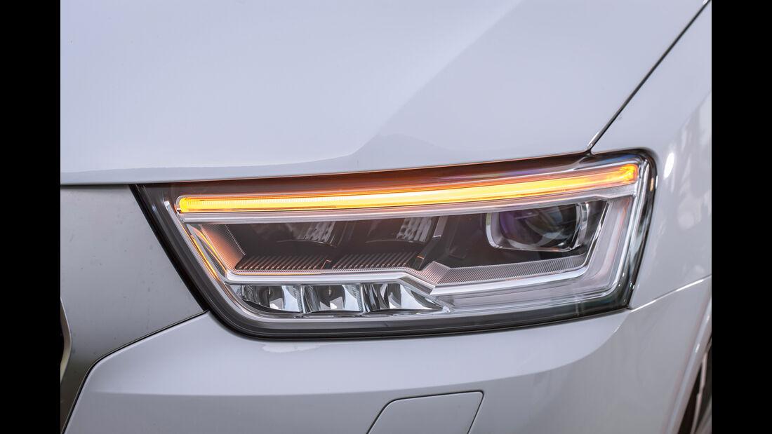 Audi Q3 2.0 TFSI Quattro Sport, Frontscheinwerfer