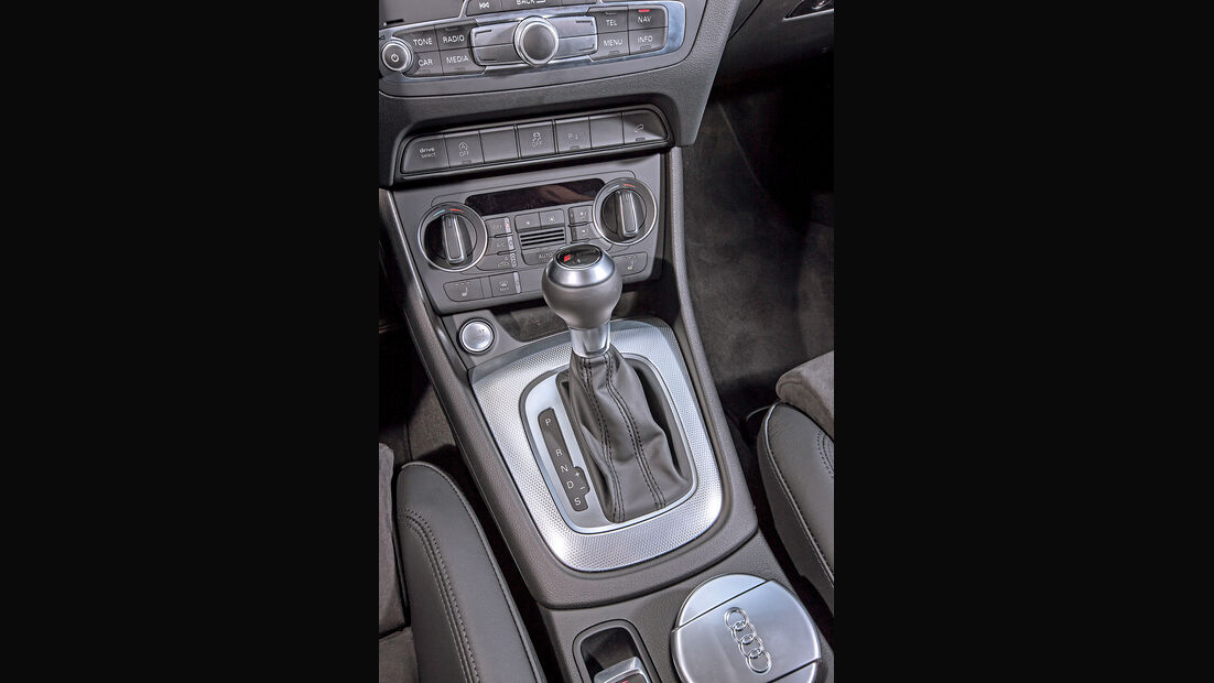Audi Q3 2.0 TFSI Quattro Sport, Schalthebel