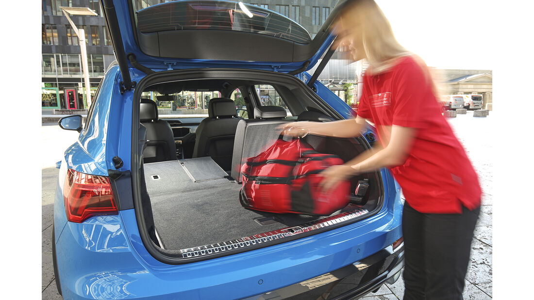 Audi Q3 45 TFSI Quattro, Kofferraum