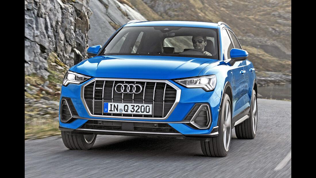 Audi Q3, Best Cars 2020, Kategorie I Kompakte SUV/Geländewagen