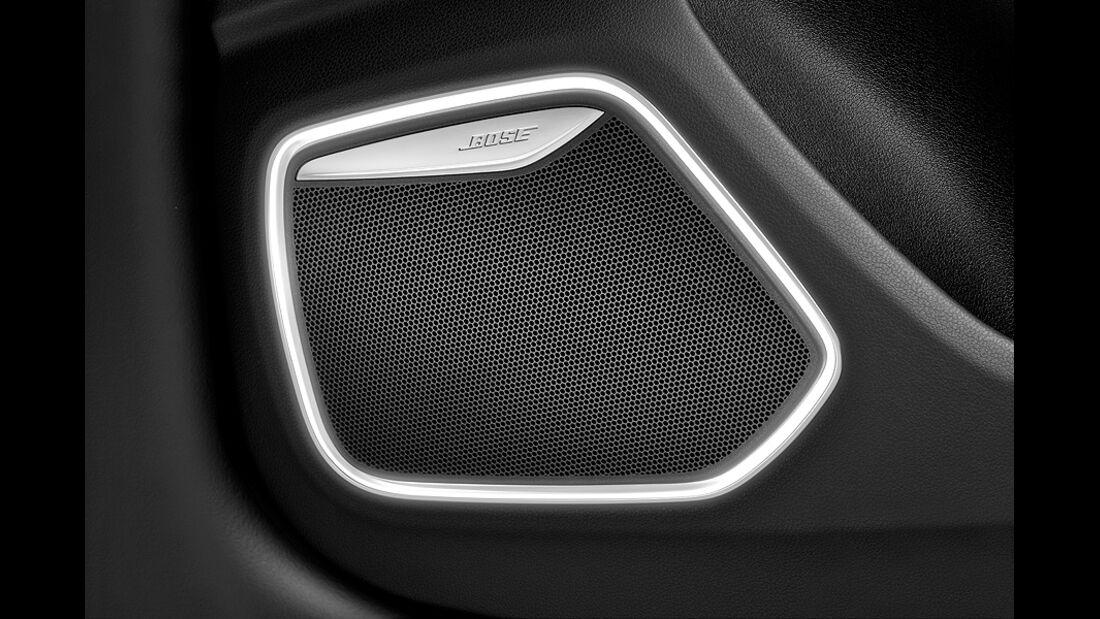 Audi Q3, Bose-Lautsprecher