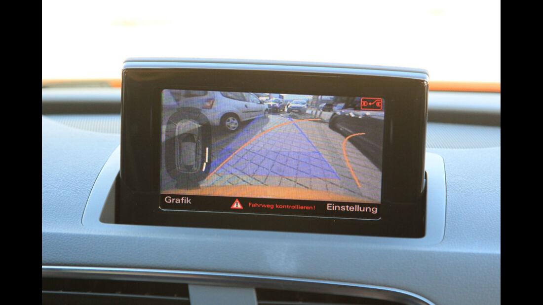 Audi Q3, Einparkhilfe