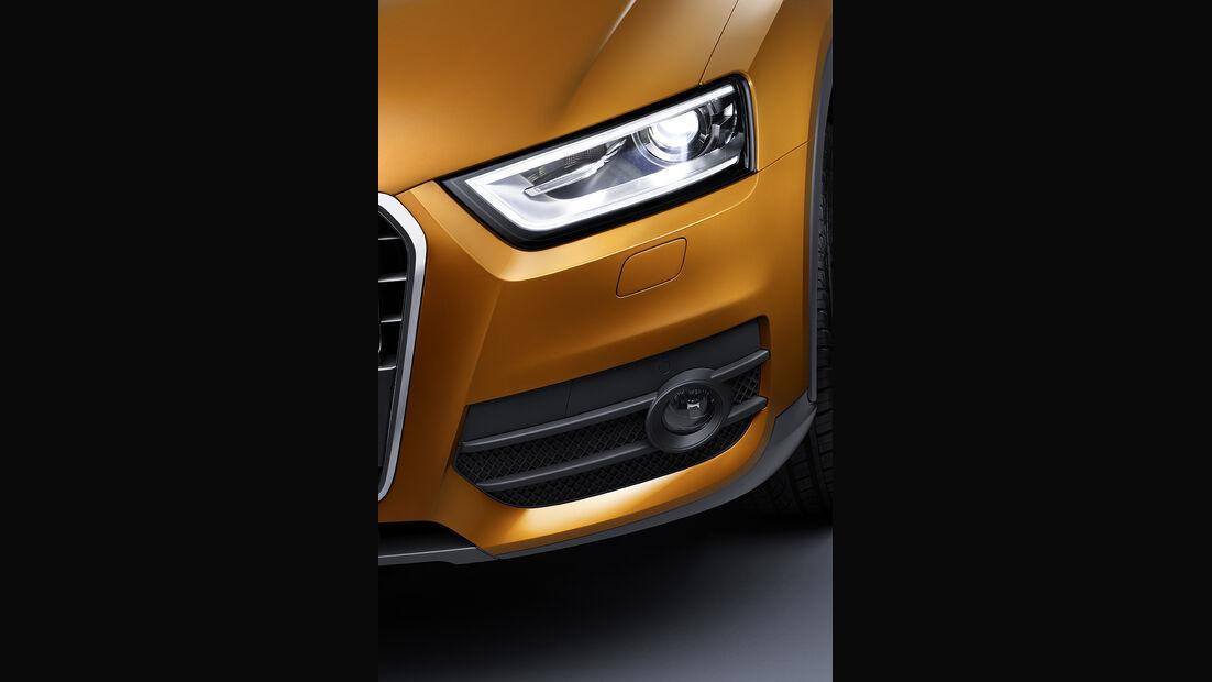 Audi Q3, Frontleuchte