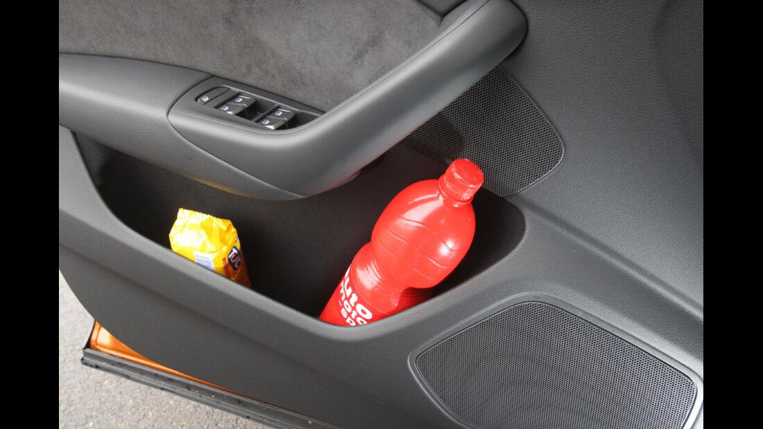 Audi Q3, Gepäckfach