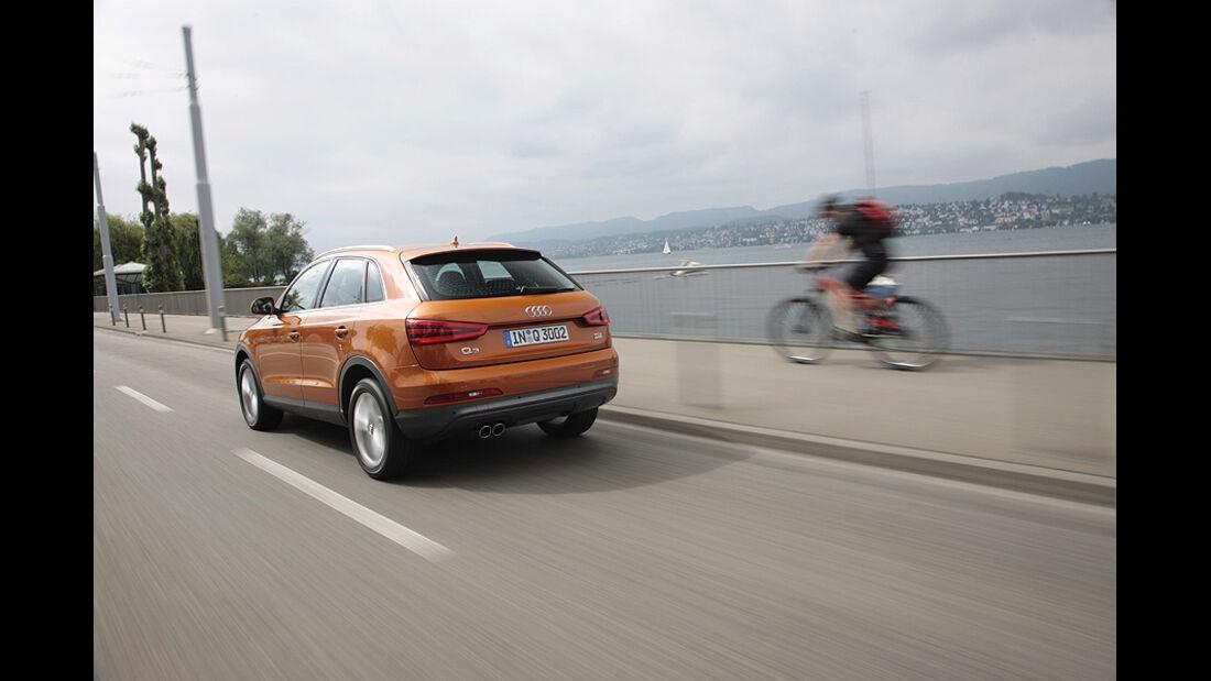 Audi Q3, Heck