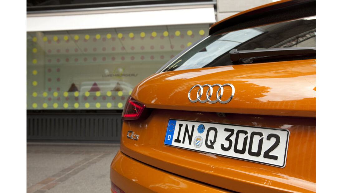 Audi Q3 Heckdetail