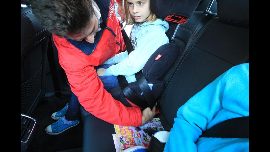 Audi Q3, Kindersitz
