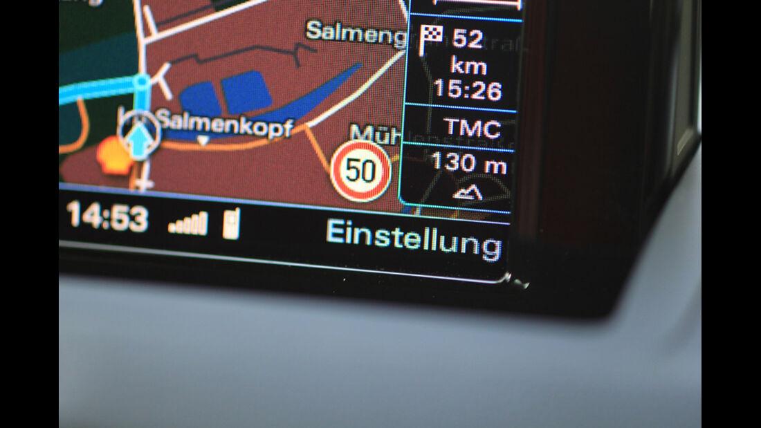Audi Q3, Navi