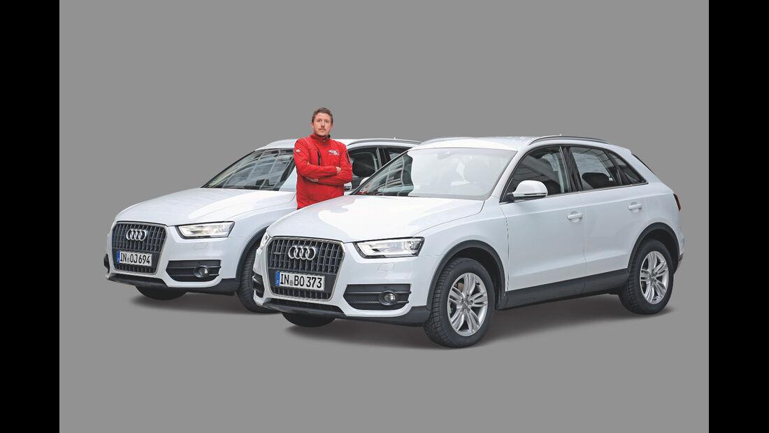 Audi Q3, Quattro, Seitenansicht